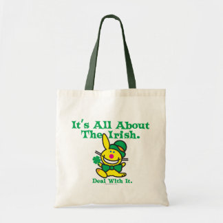 It's All About The Irish Budget Tote Bag