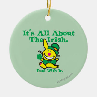 It's All About The Irish Christmas Ornament
