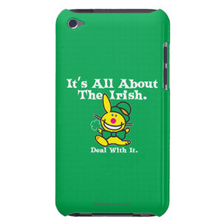 It's All About The Irish (green) Barely There iPod Cover