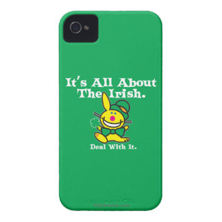 It's All About The Irish (green) Case-Mate iPhone 4 Cases