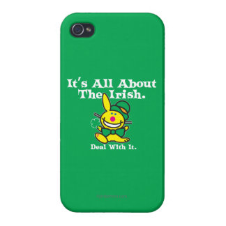It's All About The Irish (green) iPhone 4 Case