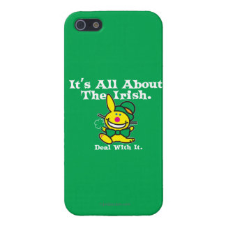 It's All About The Irish (green) iPhone 5/5S Covers