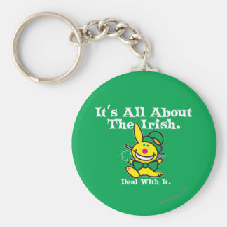 It's All About The Irish (green) Key Ring
