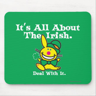 It's All About The Irish (green) Mouse Mat