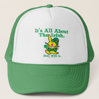 It's All About The Irish Trucker Hat