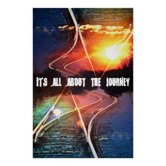 It's all about the journey poster