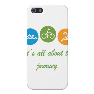 It's all about the journey - Triathlon iPhone 5/5S Case