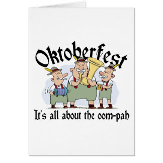 It's All About The Oom-pah Oktoberfest Gift Card