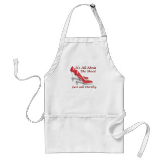 It's all about the shoes standard apron