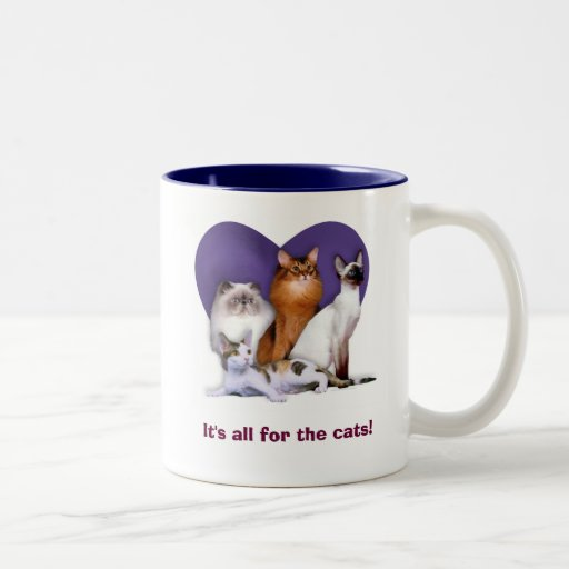 It's all for the Cats! Mug