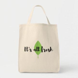 It's all fresh Tote bag