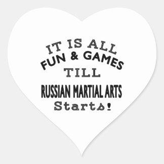 It's All Fun & Games Till Russian Martial Arts Sta Stickers