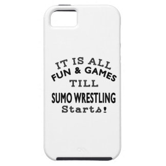 It's All Fun & Games Till Sumo Wrestling Starts iPhone 5 Case