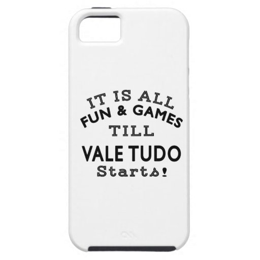 It's All Fun & Games Till Vale Tudo Starts iPhone 5/5S Cases