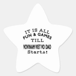 It's All Fun & Games Till Vovinam Viet vo Dao Star Star Sticker