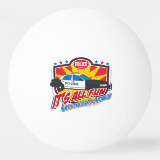 Its All Fun Police Ping Pong Ball