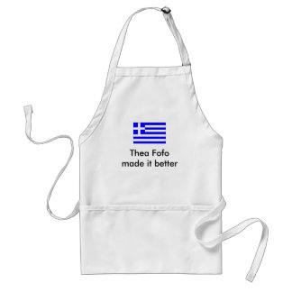 Its all Greek to me Standard Apron