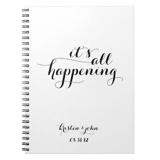 It's All Happening Wedding Planning Journal