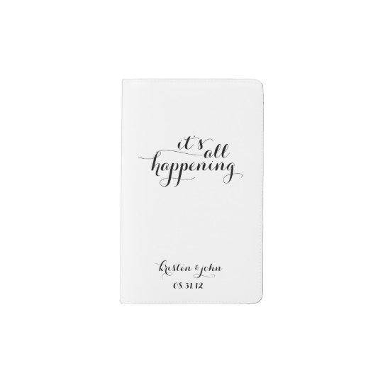 It's All Happening Wedding Planning Pocket Moleskine