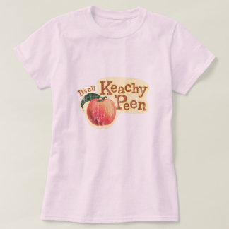 It's All Keachy Peen Funny Wordplay T-Shirt