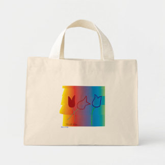 'it's all tulips'  -Tote Bag