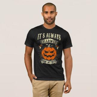It's always hallowen inside my head T-Shirt