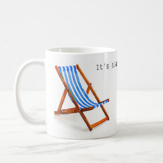 It's always summer in my mind. coffee mug