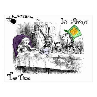 It's Always Tea Time Postcard
