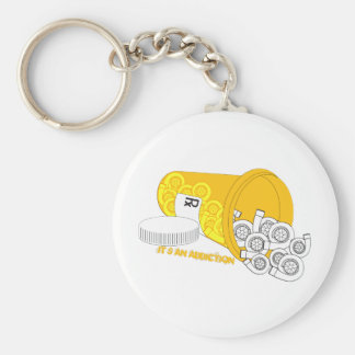 It's an Addiction Basic Round Button Key Ring