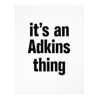 its an adkins thing 21.5 cm x 28 cm flyer