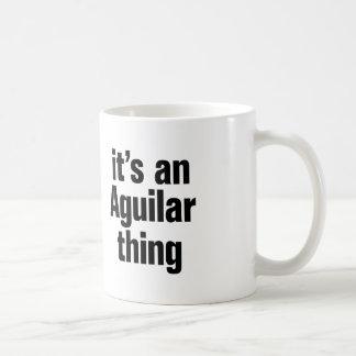 its an anguilar thing basic white mug