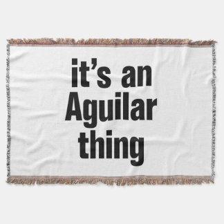 its an anguilar thing