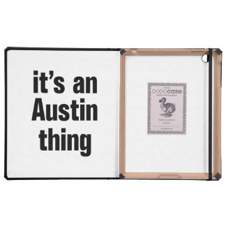 its an austin thing cover for iPad