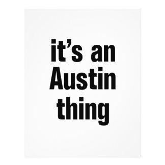 its an austin thing 21.5 cm x 28 cm flyer