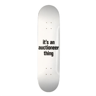 its an author thing 21.6 cm skateboard deck
