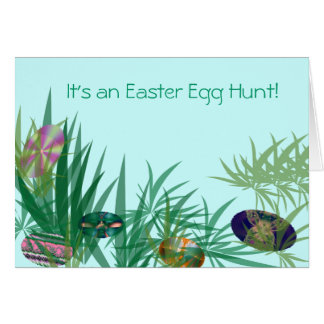 It's an Easter Egg Hunt! Greeting Card