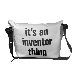 its an inventor thing commuter bags