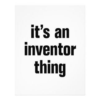 """its an inventor thing 8.5"""" x 11"""" flyer"""
