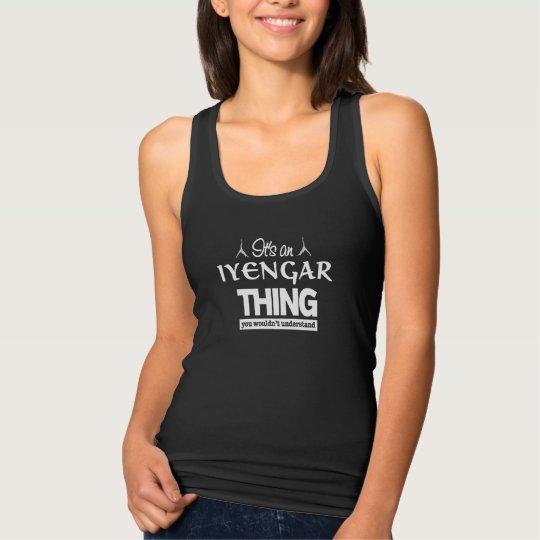 It's an Iyengar Yoga Thing Tank Top