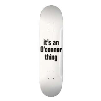 its an occoner thing 20.6 cm skateboard deck