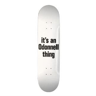 its an odonnell thing skateboard decks