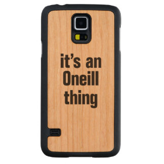 its an oneil thing carved® cherry galaxy s5 slim case