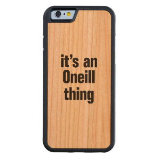its an oneil thing carved® cherry iPhone 6 bumper