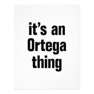its an ortega thing 21.5 cm x 28 cm flyer
