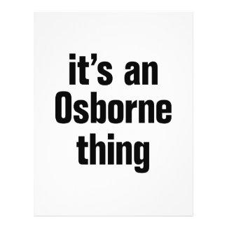 its an osborne thing 21.5 cm x 28 cm flyer