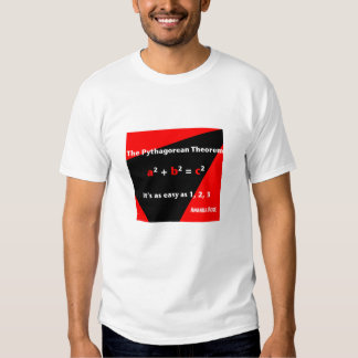 It's As Easy As 1, 2, 3 Red Mens T-shirt
