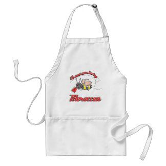 It's awesome beeing Moroccan Adult Apron