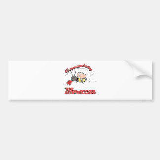 It's awesome beeing Moroccan Car Bumper Sticker