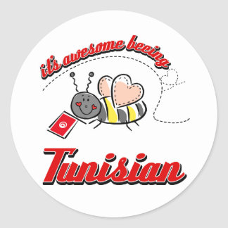It's awesome beeing Tunisian Stickers