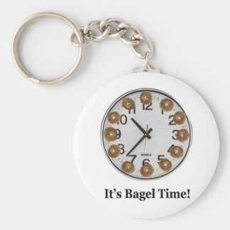 It's Bagel Time! Key Ring